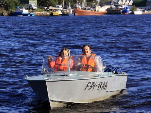лодка для пенсионера
