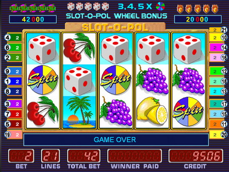 Slot o polиграть на деньги вы сможете в казино.