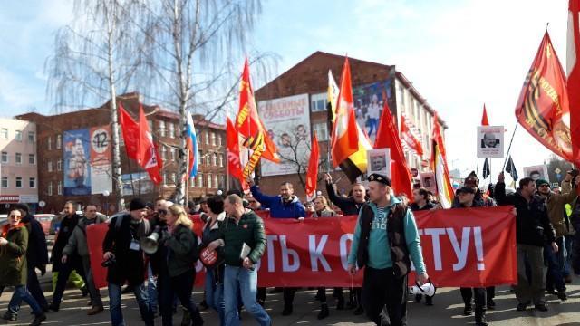 Признание властями Архангельска незаконным шествия 7 апреля ударило по первомайской демонстрации