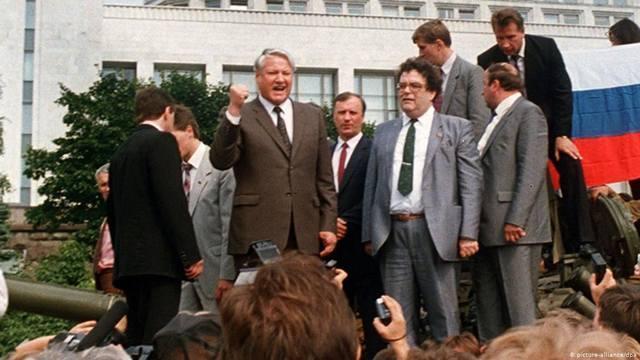 Россия завязла в августе 91-го