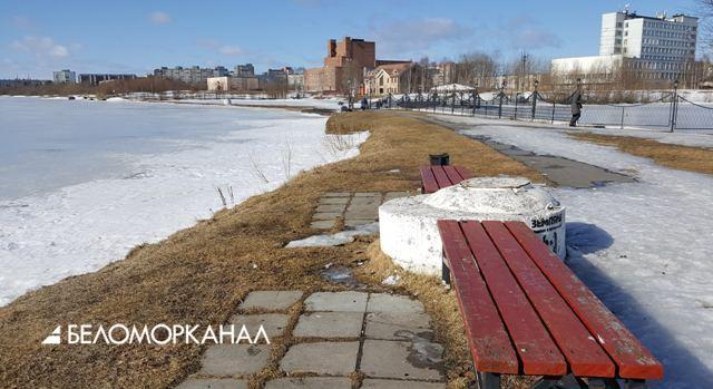Северодвинск: парк на озере Театральном уже давно существует!