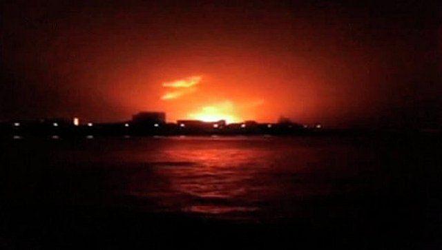 пожар на лодке в индии