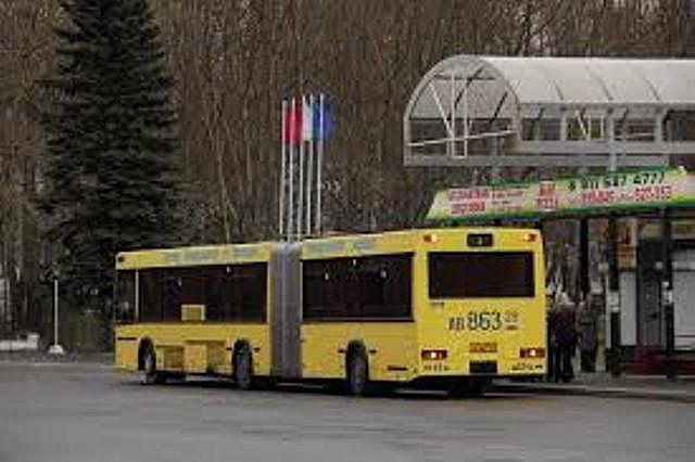 Движение автобуса № 1 с 8.30