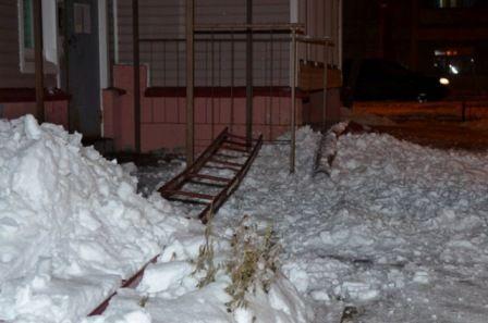 Приказ на очистку крыш от снега