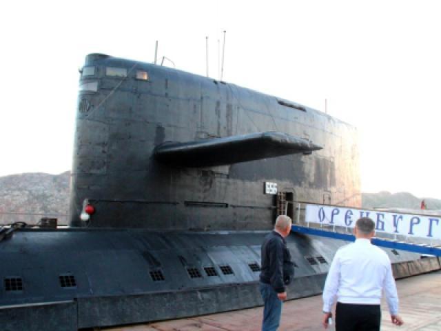 подводные лодки в обской губе