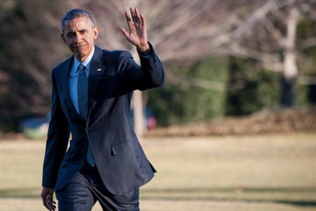Северодвинские пассионарии попрощались с Бараком Обамой