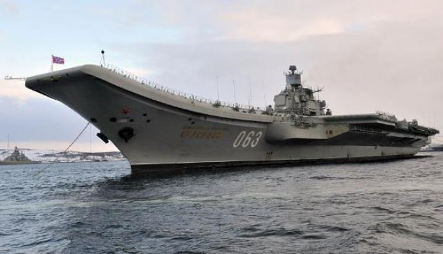 Авианосец «Адмирал Кузнецов» планируют снабдить новыми системами ПВО иПРО