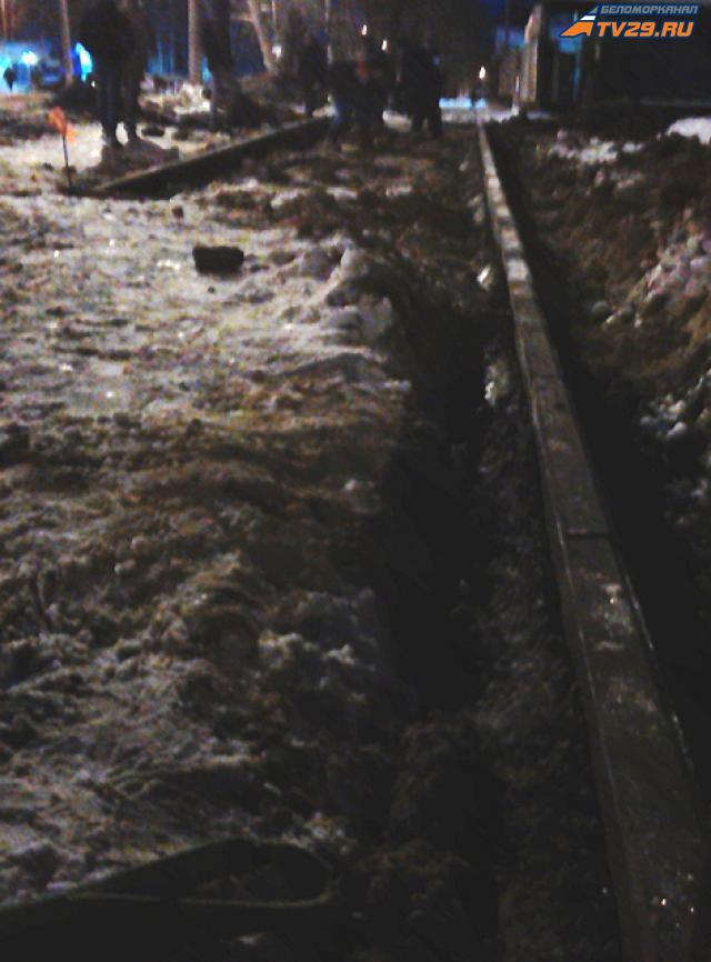 7eb8b8dce25 Зимний асфальт в Северодвинске, или «Ерунда и сбоку бантик» - Tv29.Ru