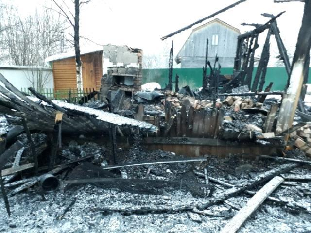 Подросток-инвалид умер при пожаре под Архангельском сегодня ночью