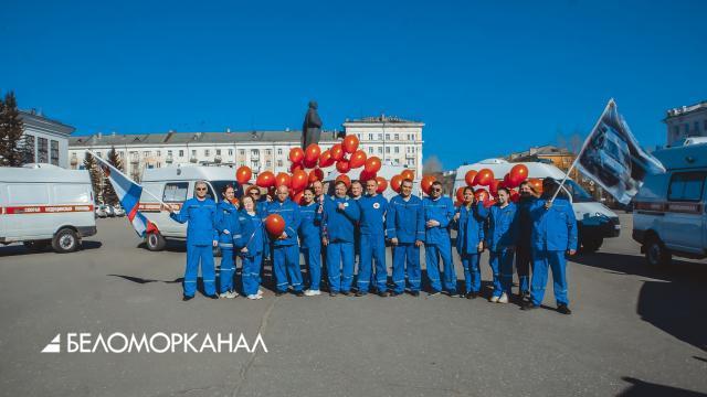 Северодвинская станция скорой медицинской помощи принимает поздравления с профессиональным праздником