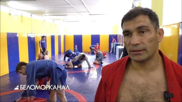 Северодвинск посетил семикратный чемпион мира по самбо Раис Рахматуллин