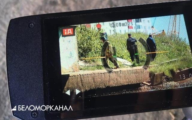 В Северодвинске сегодня обнаружили снаряд