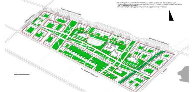 Северодвинская строительная фирма планирует реализовать инвестпроект «Квартал 152» в Архангельске